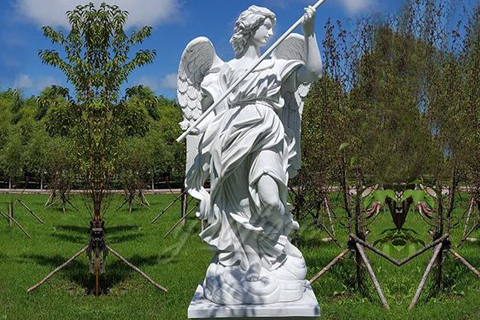 Life size outdoor marble angel sculpture for sale
