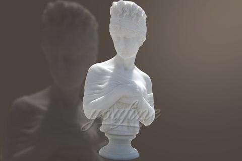 Custom Femal Bust Marble Statue