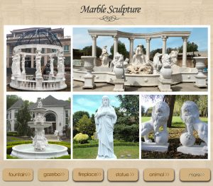 Hand Carved Marble sculptures