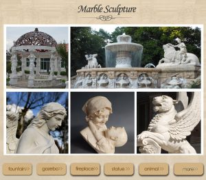Marble sculptures hot sale