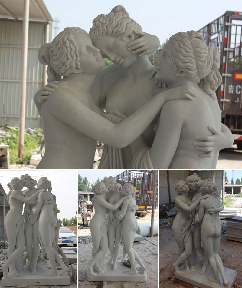 garden The Three Grace statues for sale