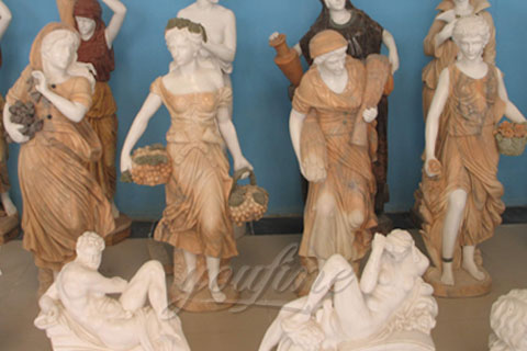 Factory Price Four Season Women Statues for Sale