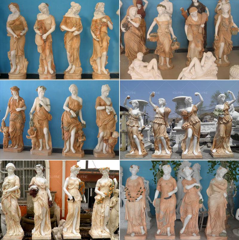 Four Season god statue